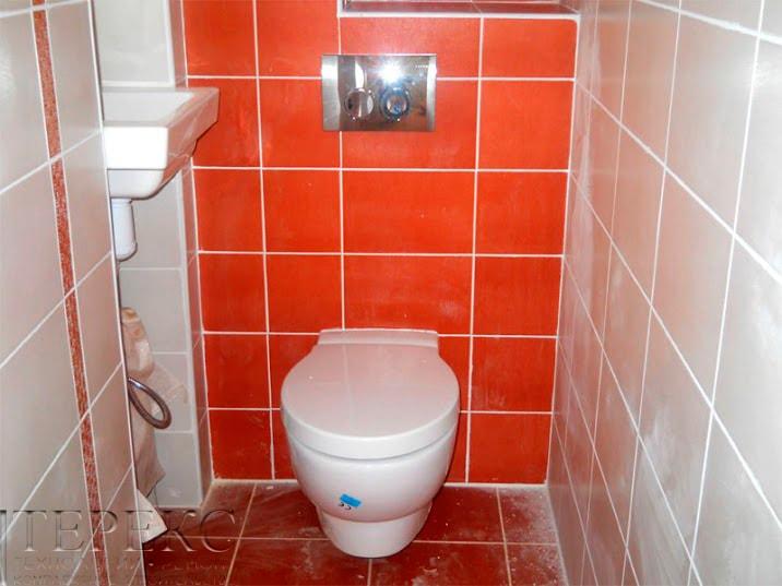 Как сделать туалет подвесной 928